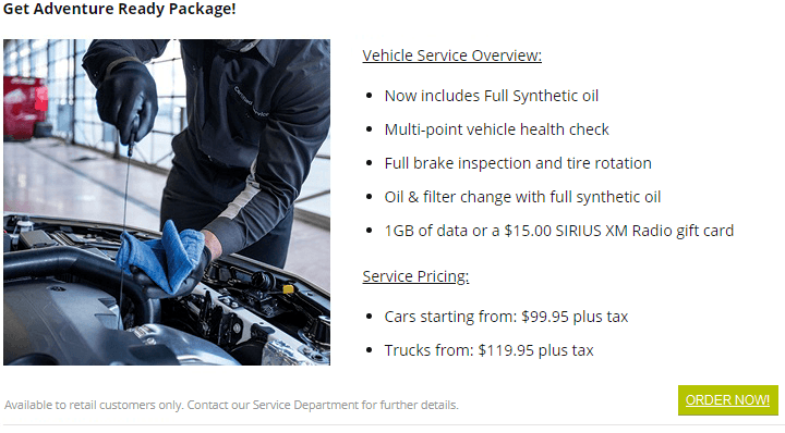 vehicle service health check northshore