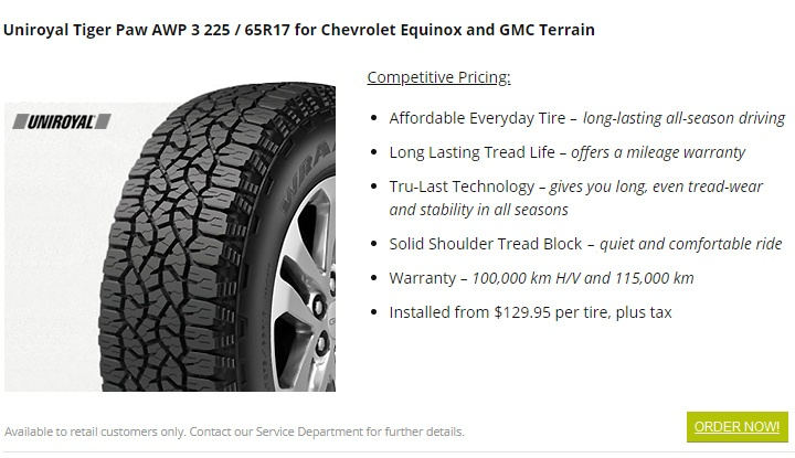 uniroyal tiger paw tires north vancouver