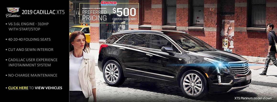 Great Rates on Cadillac XT5 SUVs at Carter GM Northshore - Save and Lease - While Stocks Last! Call Now! (604) 229-6002