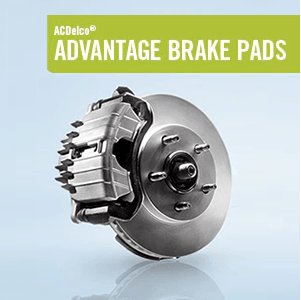 ACDelco Advantage Brake Pad