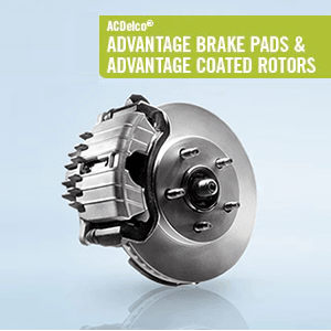 ACDelco Advantage Brake Pads & Advantage Coated Rotors