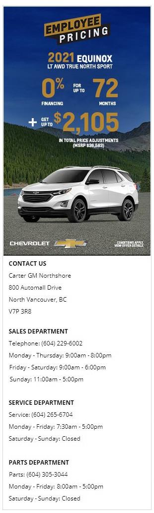 2021-Chevrolet-Equinox-LT-AWD-True-North-Sport-AWD-Carter-GM-Northshore-BC