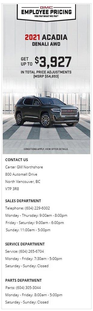 2021-GMC-Acadia-Denali-AWD-Carter-GM-Northshore
